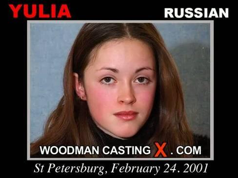 Yulia - `Yulia casting` - by Pierre Woodman for WOODMANCASTINGX