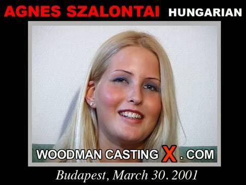 Agnes Szalontai - `Agnes Szalontai casting` - by Pierre Woodman for WOODMANCASTINGX