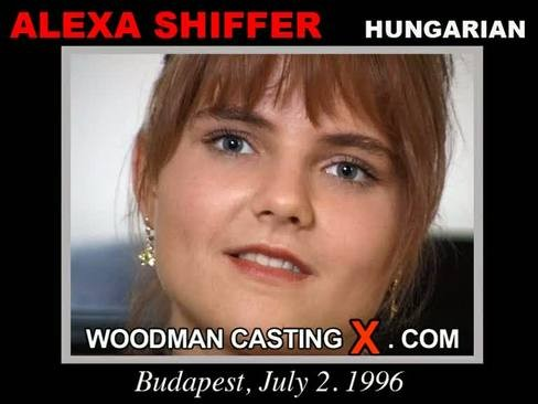 Alexa Shiffer - `Alexa Shiffer casting` - by Pierre Woodman for WOODMANCASTINGX