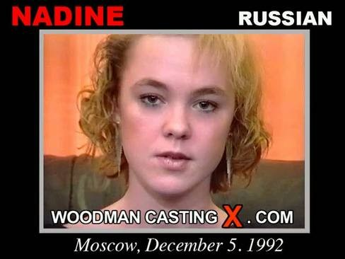 Nadine - `Nadine casting` - by Pierre Woodman for WOODMANCASTINGX