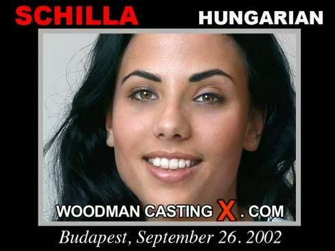 Schilla - `Schilla casting` - by Pierre Woodman for WOODMANCASTINGX
