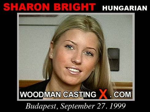 Sharon Bright - `Sharon Bright casting` - by Pierre Woodman for WOODMANCASTINGX