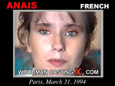 Anais - `Anais casting` - by Pierre Woodman for WOODMANCASTINGX