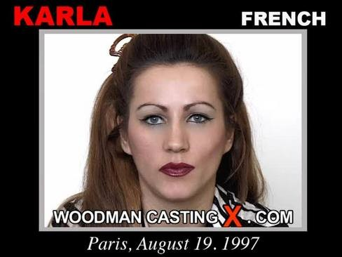 Karla - `Karla casting` - by Pierre Woodman for WOODMANCASTINGX