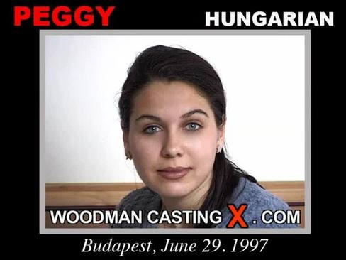 Peggy - `Peggy casting` - by Pierre Woodman for WOODMANCASTINGX