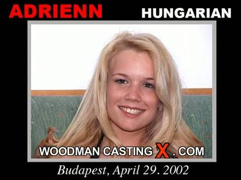 Adrienn - `Adrienn casting` - by Pierre Woodman for WOODMANCASTINGX