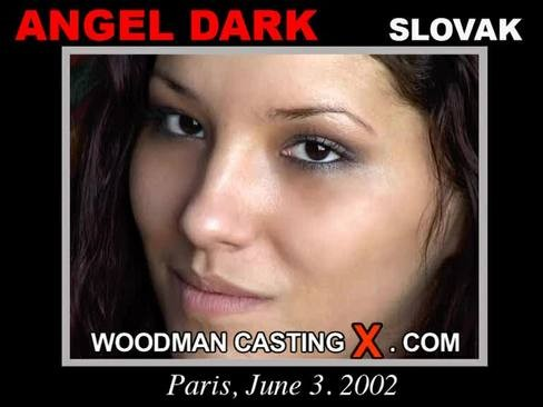 Angel Dark - `Angel Dark casting` - by Pierre Woodman for WOODMANCASTINGX