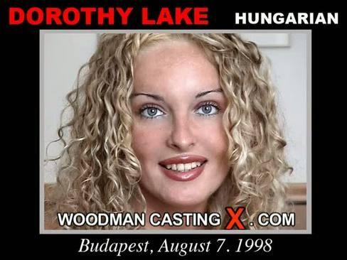 Dorothy Lake - `Dorothy Lake casting` - by Pierre Woodman for WOODMANCASTINGX
