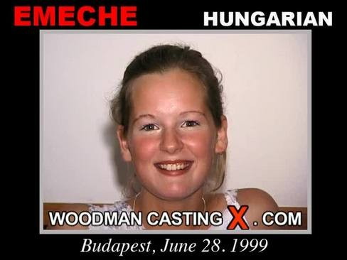 Emeche - `Emeche casting` - by Pierre Woodman for WOODMANCASTINGX