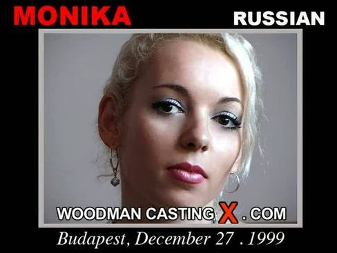 Monika Rosz - `Monika Rosz casting` - by Pierre Woodman for WOODMANCASTINGX