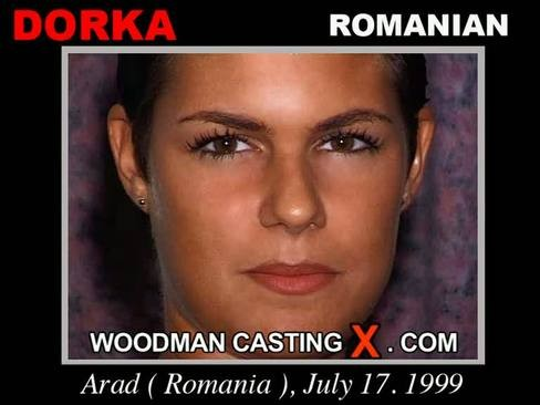 Dorka - `Dorka casting` - by Pierre Woodman for WOODMANCASTINGX