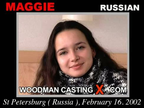 Maggie - `Maggie casting` - by Pierre Woodman for WOODMANCASTINGX
