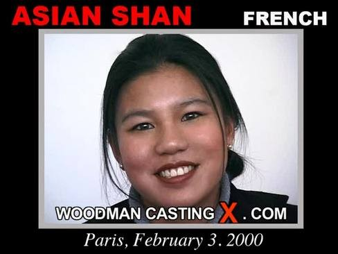Asian Shan - `Asian Shan casting` - by Pierre Woodman for WOODMANCASTINGX