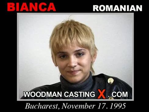 Bianca - `Bianca casting` - by Pierre Woodman for WOODMANCASTINGX