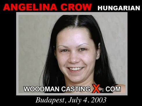 Angelina Crow - `Angelina Crow casting` - by Pierre Woodman for WOODMANCASTINGX