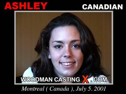Ashley - `Ashley casting` - by Pierre Woodman for WOODMANCASTINGX