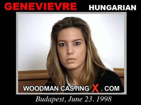 Genevievre - `Genevievre casting` - by Pierre Woodman for WOODMANCASTINGX