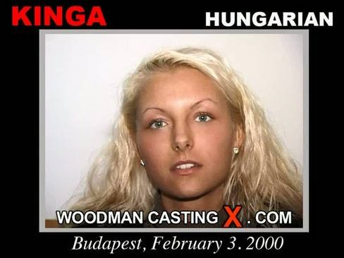 Kinga - `Kinga casting` - by Pierre Woodman for WOODMANCASTINGX
