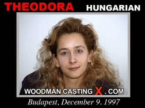 Theodora - `Theodora casting` - by Pierre Woodman for WOODMANCASTINGX