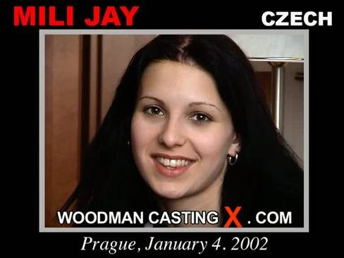 Mili Jay - `Mili Jay casting` - by Pierre Woodman for WOODMANCASTINGX
