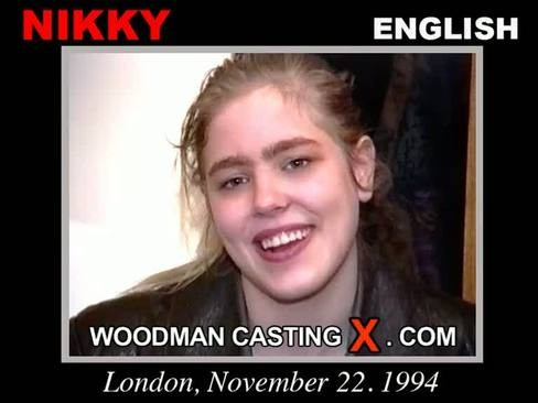 Nikky - `Nikky casting` - by Pierre Woodman for WOODMANCASTINGX
