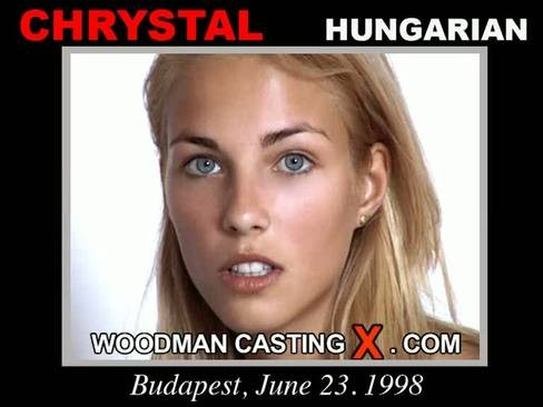 Chrystal - `Chrystal casting` - by Pierre Woodman for WOODMANCASTINGX