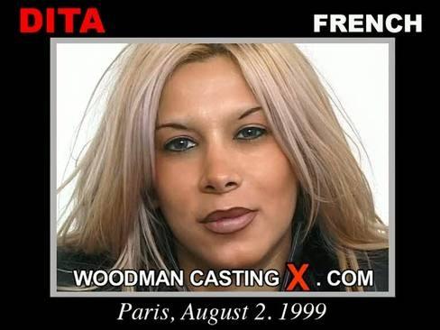 Dita - `Dita casting` - by Pierre Woodman for WOODMANCASTINGX