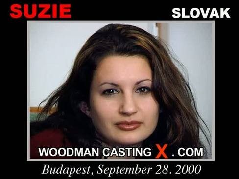 Suzie - `Suzie casting` - by Pierre Woodman for WOODMANCASTINGX