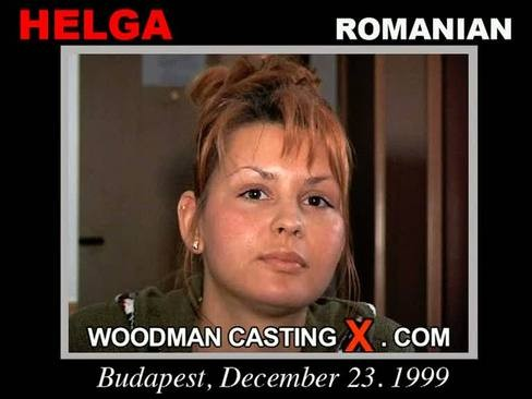 Helga - `Helga casting` - by Pierre Woodman for WOODMANCASTINGX