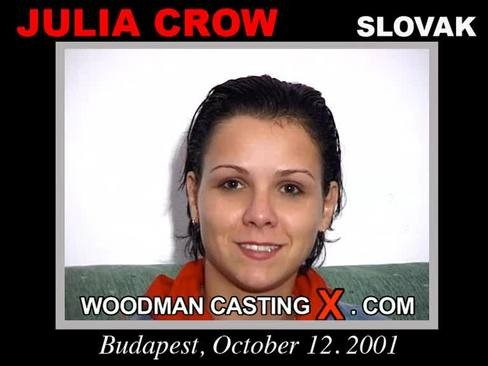 Julia Crow - `Julia Crow casting` - by Pierre Woodman for WOODMANCASTINGX