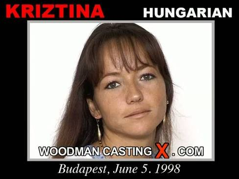 Kriztina - `Kriztina casting` - by Pierre Woodman for WOODMANCASTINGX
