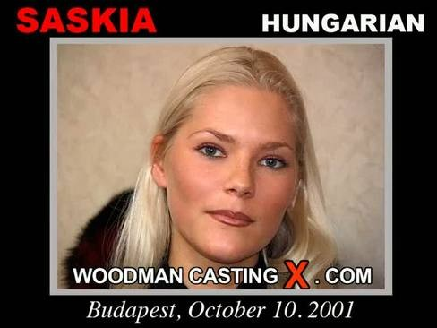 Saskia - `Saskia casting` - by Pierre Woodman for WOODMANCASTINGX