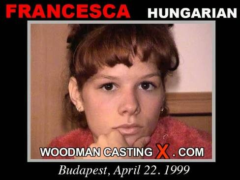 Francesca - `Francesca casting` - by Pierre Woodman for WOODMANCASTINGX