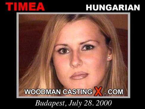 Timea Jadorlabit - `Timea casting` - by Pierre Woodman for WOODMANCASTINGX