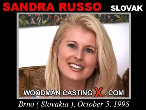 Sandra Russo - `Sandra Russo casting` - by Pierre Woodman for WOODMANCASTINGX