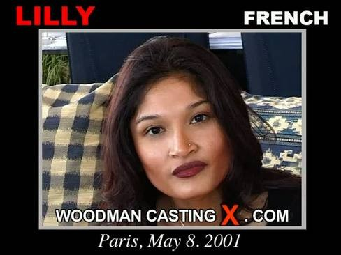 Lilly - `Lilly casting` - by Pierre Woodman for WOODMANCASTINGX