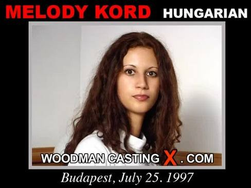 Melody Kord - `Melody Kord casting` - by Pierre Woodman for WOODMANCASTINGX