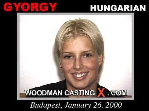 Gyorgy - `Gyorgy casting` - by Pierre Woodman for WOODMANCASTINGX