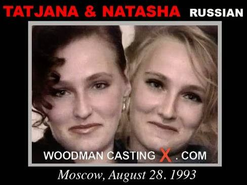 Tatjana Et Natasha - `Tatjana Et Natasha casting` - by Pierre Woodman for WOODMANCASTINGX
