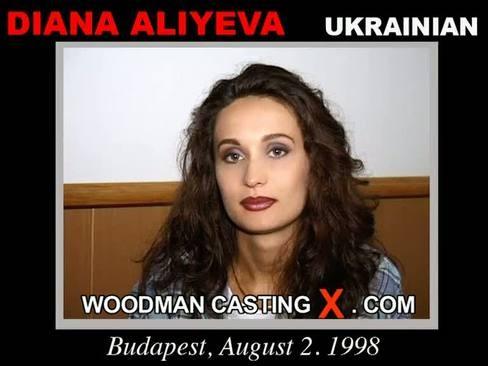Diana Aliyeva - `Diana Aliyeva casting` - by Pierre Woodman for WOODMANCASTINGX