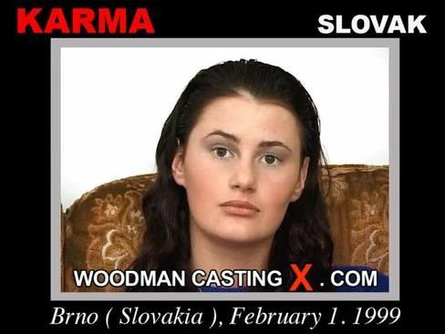 Karma - `Karma casting` - by Pierre Woodman for WOODMANCASTINGX