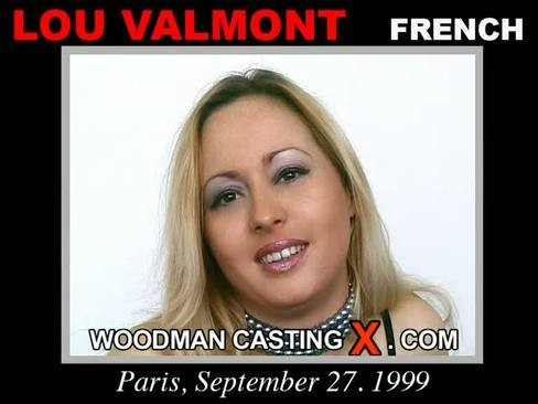 Lou Valmont - `Lou Valmont casting` - by Pierre Woodman for WOODMANCASTINGX