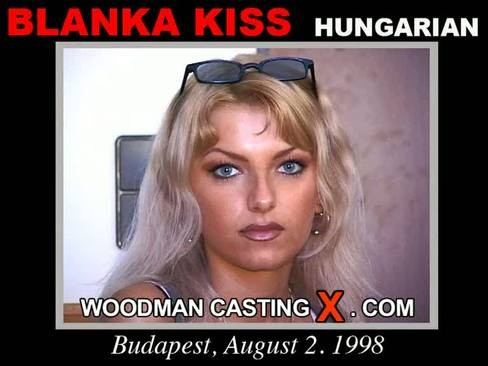 Blanka Kiss - `Blanka Kiss casting` - by Pierre Woodman for WOODMANCASTINGX