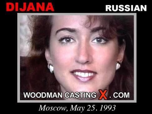 Dijana - `Dijana casting` - by Pierre Woodman for WOODMANCASTINGX