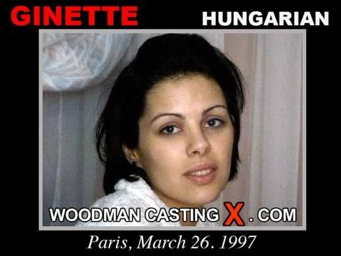 Ginette - `Ginette casting` - by Pierre Woodman for WOODMANCASTINGX