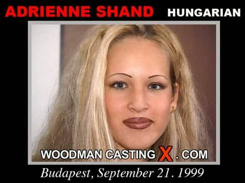 Adrienne Shand - `Adrienne Shand casting` - by Pierre Woodman for WOODMANCASTINGX