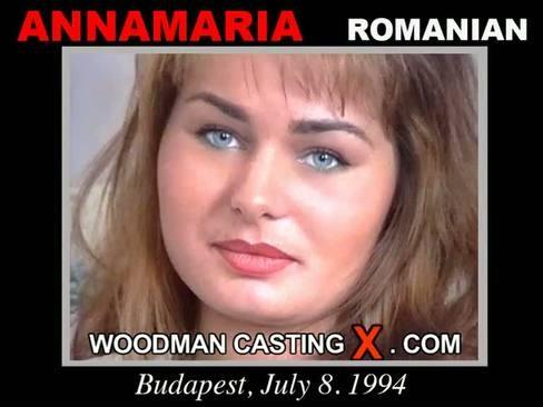Anna Maria - `Anna Maria casting` - by Pierre Woodman for WOODMANCASTINGX