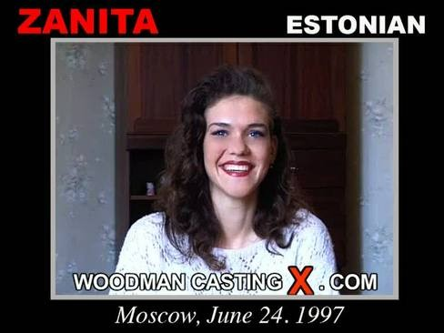 Zanita - `Zanita casting` - by Pierre Woodman for WOODMANCASTINGX