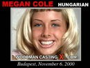 Megan Cole casting video from WOODMANCASTINGX by Pierre Woodman