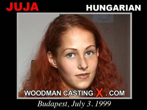 Juja - `Juja casting` - by Pierre Woodman for WOODMANCASTINGX